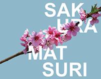 Sakura Matsuri Festival Posters