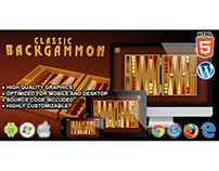 HTML5 Game: Classic Backgammon