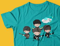 Ilustração - The Beatles