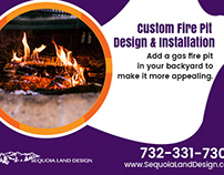 Heat Up Your Patio Area by Adding a Gas Fire Pit