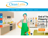 Cleanletts.co.uk Website Design
