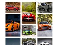 Mechanic WordPress Theme - Portfolio Masonry