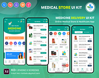 Medical Pharmacy UI KIT