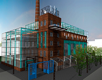 Redevelopment project the historical center of Ryazan