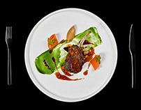 Food photography: NAPA Winter'17 menu