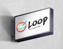 Loop ice cream rolls