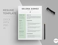 Cv - Cover Letter template