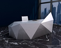 Raw Ice | Reception Desk