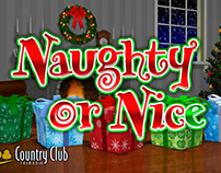 Naughty or Nice - Big red Button Promotion
