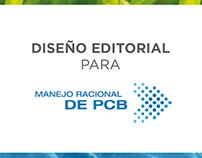 Diseño editorial Manejo Racional de PCBs