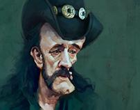 Lemmy Kilmister Caricature (Motörhead)