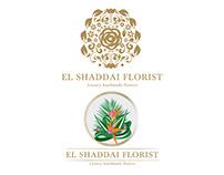El Shaddai Florist Logos