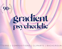 Gradient psychedelic collection