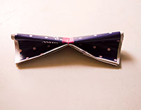 Bow Wow! : Concept ad for Louis Phillipe Bow Ties