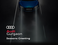 Audi Gurgaon : Seasons Greeting