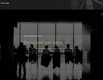 Website for law agency