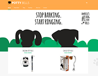 Potty Bells - Website UI
