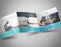 Corporate Square Trifold Brochure Vol 2