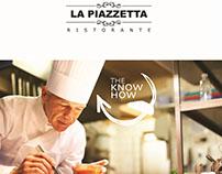 La Piazzetta (Italian resturant) _ Takeaway Menu.