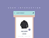 User Interaction Simple UI/UX