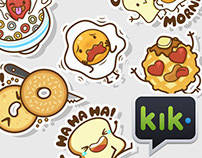 The Breakfast Club | Stickers for Kik Messenger