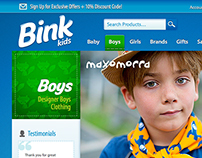 Bink Kids Website and Online Store