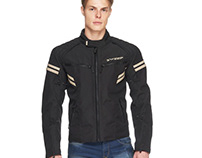 Mens Eagle Waterproof Touring/Urban Motorcycle Jacket