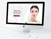 """""""AEI"""" internetinio puslapio dizainas"""