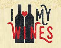 Logo for a wine blog