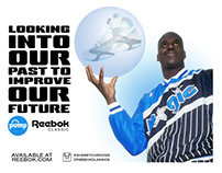 Mock Ad for the Reebok Pump