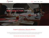 Debt Collection Website