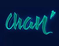 Chan' logotype in 3d