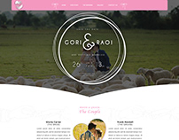THE WEDDING WEB PAGE TEMPLATES