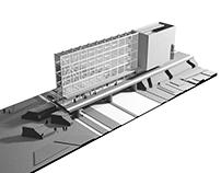 intermodal hub and new aquincum museum, budapest