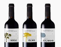 Verpackungskonzept Rotwein.