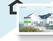 Kerabit - Landing Page Design