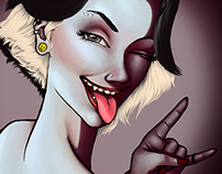 Cruella De'Vil turns 18