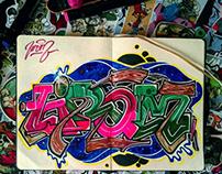 Graffiti Sketch HROM