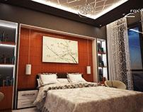 Design intérieur appartement luxe M'Sila par FOXNAS