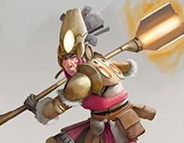 FUTURISTA: guerrero