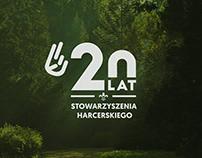 LOGO - 20 LAT STOWARZYSZENIA HARCERSKIEGO