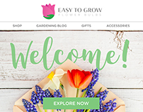Easy To Grow Flower Bulbs series email campaigns