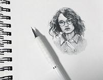 Mini sketchbook work