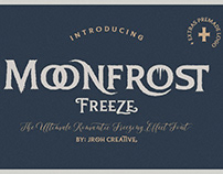 Moonfrost Freeze Font + Extras