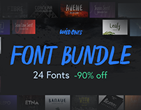WildOnes Font Bundle 90% Off