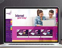 CONNECT- ISP LEBANON WEBSITE & MOBILE-SITE