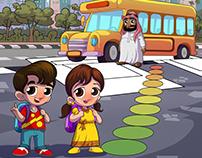 Traffic Safety Children Activities Book