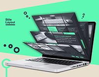 Brandit graphic & web agency web site mock up