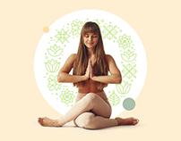 Yoga personal training landing page