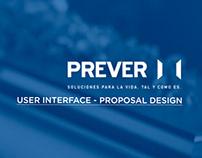 UI Design Proposal PREVER